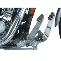 Extended Length Forward Controls – Chrome. Fits Dyna 1991-2017.