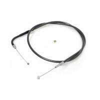 40-3/4in. Throttle Cable – Black Pearl. Fits Big Twin 1996up.