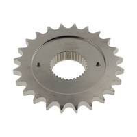 24 Tooth 0.500 Offset Transmission Sprocket. Fits 5spd Big Twin 1987-2006 & Sportster 2006up.