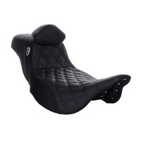 Step-Up SDC Pro Series Gripper Dual Seat With Backrest. Fits Touring 2008up.
